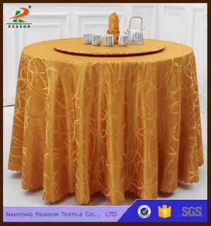 Customized Palace Jacquard Tablecloth Factory