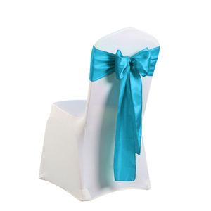 satin chair sash/wedding chair sashes/wedding satin sash for chairs
