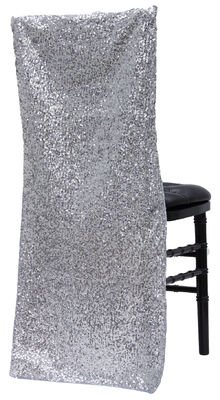 Glitz Sequin Chiavari Full Chair Back Cover