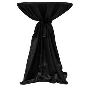 Satin Customize Cocktail Table Covers