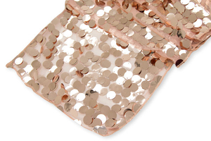 Sparkling Large Payette Sequin Table Runner