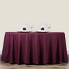 100% polyester 90'' round table cloth