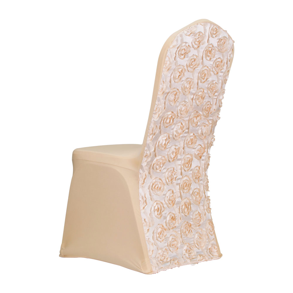 Luxury spandex wedding polyester chair cover for sale