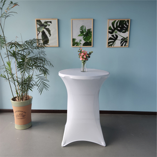 stretch cocktail table cover