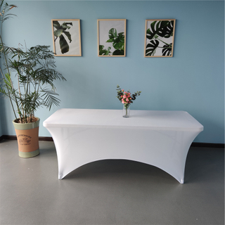 rectangular spandex table cloth