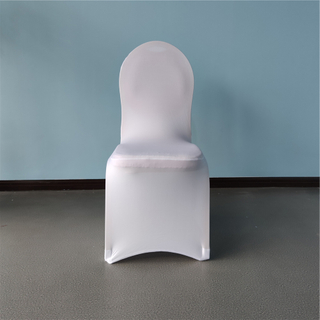 Flat spandex banquet chair covers