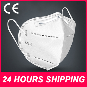 KN95 Mask KN95 Face Mask FFP2 Disposable Mask Reusable Mouth Masks Non Woven Anti Dust Masks FFP2 KN95 Face Masks N95 FFP2