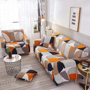 Printed Universal Stretch Sofa Cover Slipcover Couch Cover Leather Furniture Protector from Pet