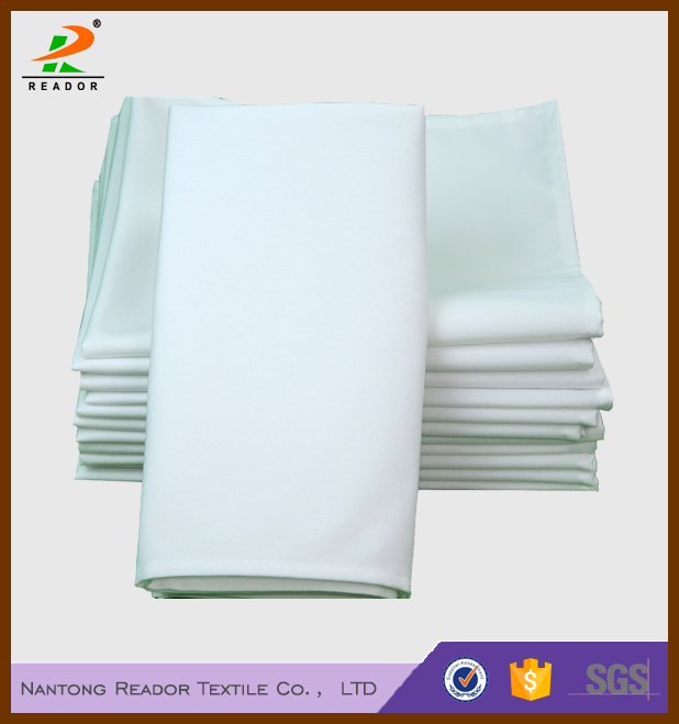 wholesale cheap 100% linen spun polyester/poly napkins for wedding
