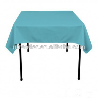 rectangle polyester table cloth for wedding and party tablecloth