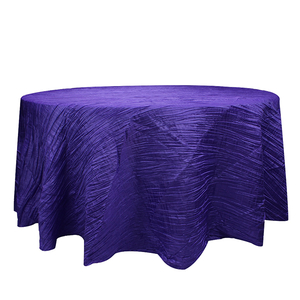 108 inch custom round wedding table cloth linen polyester tablecloths