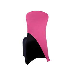 factory price spandex chair cover,wedding decoration chair cover pink