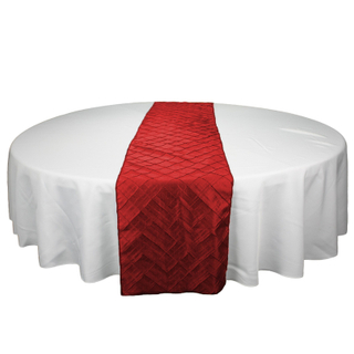 Wholesale cheap polyester stain dining table runner