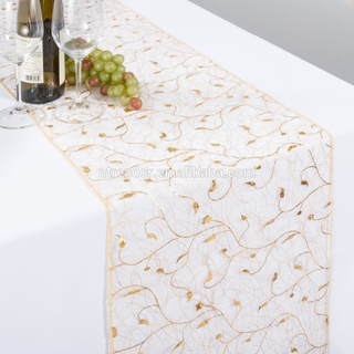 dining mexican flower macrame lace organza christmas wedding table runners